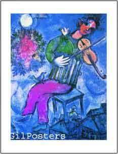 Le Violiniste bleu
