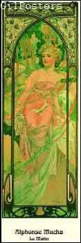 Le Matin - מוחה אמפרסיוניסטים קלאסי אומנות אישה