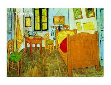 la chambre de Van Gogh ואן גוך חדר מיטה וון גוך