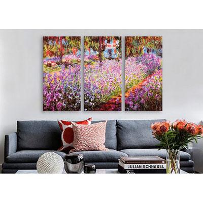 Le jardin de Monet - מונהתמונות לסלון תמונות לבית פרויקטים סט תמונות