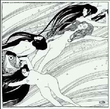 THE BLOAD OF FISHאמפרסיוניסטים קלאסי אומנות בחורות נשים שחור לבן
