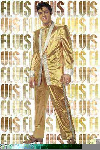 אלוויס פרסלימוסיקה להקה קצב פופ זמרת הופעה חיה אלביס זהב Elvis Pure Gold