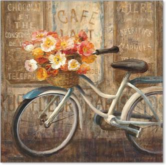 ניפגש בקפה 2אופניים, אירופה, רחוב, רומנטי, וינטג', פרחים