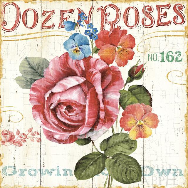 גינת ורדים 2שלט, כחול, ירוק, חום, פרפרים, פרפר, קרם, פרחים, פרח, שושנה, ורד, גינה , זהב, אפור, ירוק, לוח עץ, וינטג', ישן, קישוטי, דקורטיבי, מילים, איור, רישום, מילים