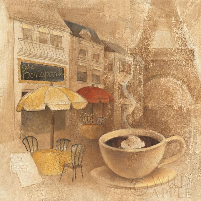 קפה דה-פריז 2מיושן, וינטג', בז', ביסטרו, שחור, לבנים אדומות, חום , קפה, קרם, מטבח, ספל, ספלים, כוסות, ארוחה, אספרסו, אירופאי, פריז, צרפת, צרפתי, זהב, נוף עירוני, צלחת, אדום, דרך, בית קפה