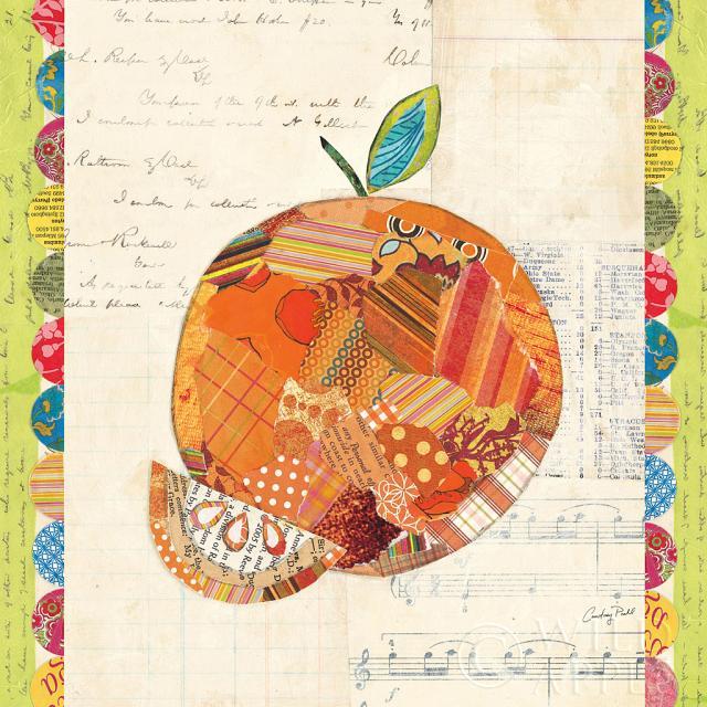קולז' פירות-תפוזתמונות של פירות ירקות  תפוז, קולאז, פירות, צבעוני, טקסט, איור