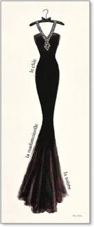 קוטור בשחור 3אופנה, שמלה, קוטור, צרפתי, צרפת, קולב