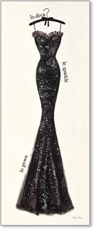 קוטור בשחור 4אופנה, שמלה, קוטור, צרפתי, צרפת, קולב