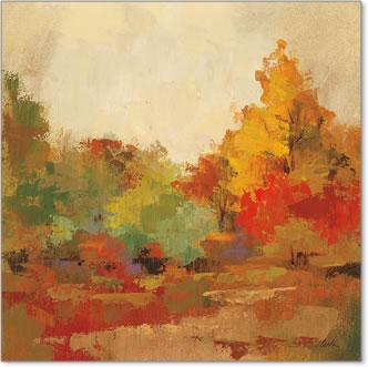 יער סתווי 2עצים   יער, כתמים, צבעים, סתיו, שלכת , חורשה,