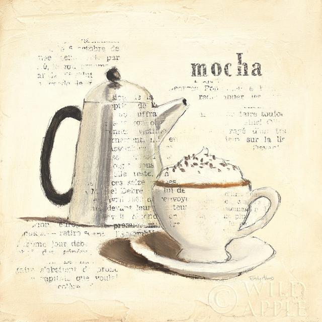 קפה פריזאי 1בז', ביסטרו, ארוחת בוקר, קפה , חום, שוקולד, מוקה, ספל קפה, ספל, קרם, מטבח, משקה, כוס , ארוחת ערב, אפור, מוקה, עיתון, הדפס , פריס, פרסי, מקינטה, קומקום, כסף, וינטג', אספרסו