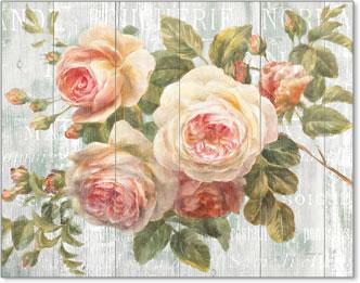 פרחים וינטג' על עץוינטג', קישוטי, עץ , פרחים, ישן, עתיק, דקורטיבי, יפה, עדין, ורוד, פרחים ורודים