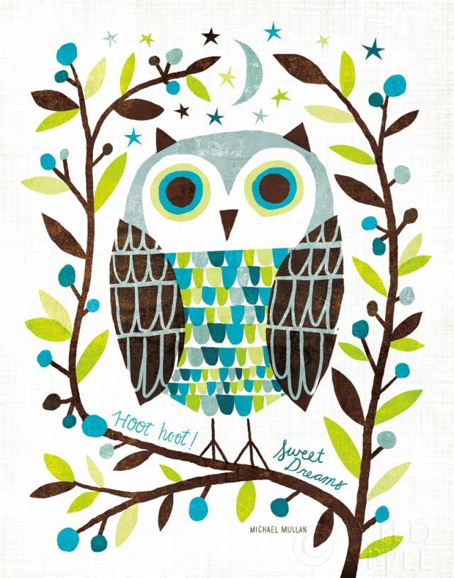 אוכמניות, ציפור, ציפורים, כחול, ינשוף, ציפור לילה, ענפים, עצים, חום, גיאומטרי, אפור, עלה, עלים, עץ , מודרני, ירח, לילה, כוכבים