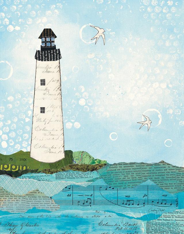 מכתבים מהחוף 2ציפור, ציפורים, שחור, כחול, ירוק, סירה, אניה, מפרשית, חוף, קולאז', עדין, קרם, גלויות, שייט, גלויה, אוקיאנוס, ים, הפלגה, נייר, מכתבים, מכתב, טקסט, מילים, גלים, לבן,