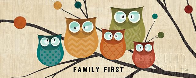 ציפור, ענף, חום, צבעים, משפחה, עפים, ירוק, עלים, ינשוף, ינשופים, זוג, צהוב
