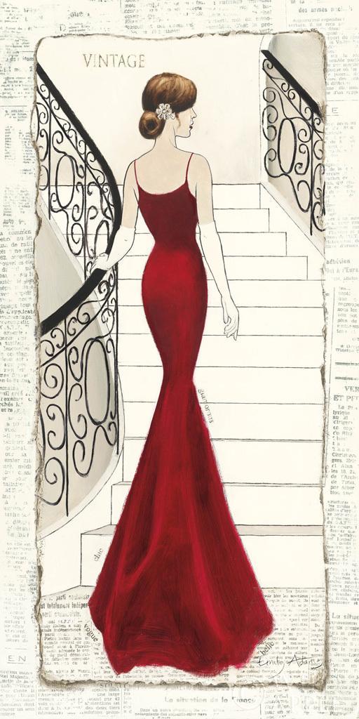 בל האדומהשמלה , שחור, אלגנטי,אופנה, פיגורטיבי, שמלת ערב, אישה , גברת, אדום, וינטג'