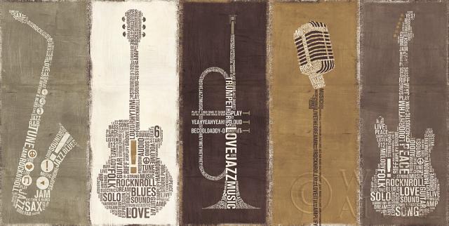 להקה באותיות מודפסותלהקה, חום, קרם, גיטרה, כלי נגינה, מיקרופון, מודרני, מוסיקה, טבעי, סקסופון, חצוצרה, מודפס  ,אותיות, טיפוגרפיה, מילים