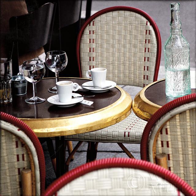 קפה בחוץפריז, שולחן, בית קפה, יין, קפה , רומנטי, זוג, צילום, וינטג'
