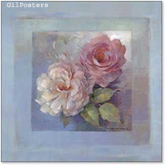 שני ורדים בחלוןעיצוב אהבה רומן וורדים שושנים