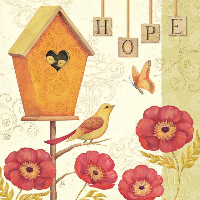 ברוכים הבאים הביתה 2וינטג', ורדים, שושנים, שובך, ציפורים, ציפור, רומנטי, אהבה, תקווה, פרפר