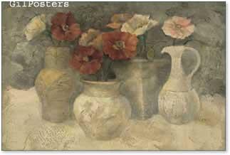 אגרטלים ביחדפרחים רומנטי מודרני דקורטיבי יופי עיצוב דקורציה