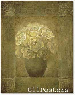 ורדים לבניםפרחים רומנטי מודרני דקורטיבי יופי עיצוב דקורציה