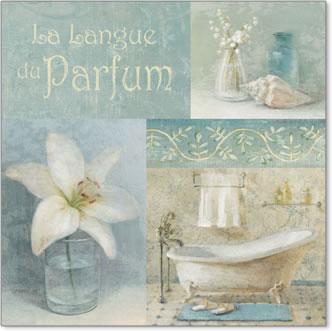 בושם 1אמבטיה, בושם, דקורטיבי, אווירה, פרחים, תכלת