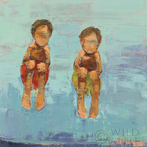 קפיצה למיםקאנון בול, מקפצה, ילדים קופצים, בריכה, ים, קיץ , בגדי ים