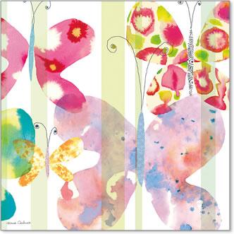 פרפרים, נאיבי, חותמות, עדין, צבעוני , פסטלי, ילדים