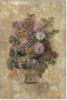 אגרטל של פרחיםפרחים עיצוב אהבה רומן וורדים שושנים