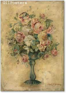 זר פרחים רומנטיפרחים עיצוב אהבה רומן וורדים שושנים