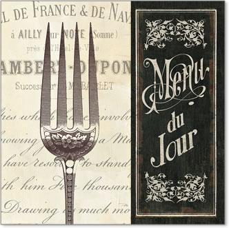 תפריט צרפתי 2וינטג', קפה, פריז, שחור, לבן, ישן , טקסט, מטבח, מזלג