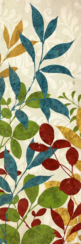 עלים של צבע 2כחול חום, צבעים, דקורטיבי, פרחוני, עלים, הדפס, טבעי, צבעוני, טקסטיל
