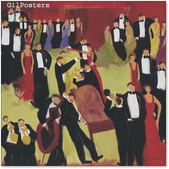 רוקדים לקול המוסיקהנגינה ניגון חצוצרה מוסיקה מוזיקה ביחד פסנתר מחול סלוני