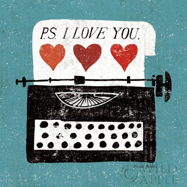 שולחן עבודה וינטג'- מכונת כתיבהשחור, כחול, שולחן עבודה, לב, לבבות, אהבה, מיושן, וינטג', אדום, רומנטי, אמירה, מכונת כתיבה, מתוק, לבן, מילה, מילים, כתיבה,