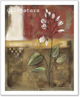 ניצנים לבניםפרחים רומנטי מודרני דקורטיבי יופי עיצוב דקורציה