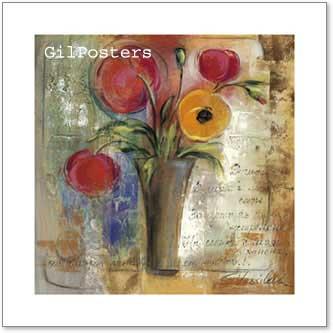 זר צבעוניפרחים רומנטי מודרני דקורטיבי יופי עיצוב דקורציה