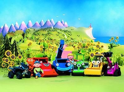 בוב הבנאי  - Bob the  builder   אנימציה children-1016