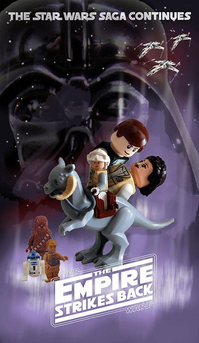 לגו - מלחמת הכוכבים - האימפריה מכה שניתלגו  מלחמת הכוכבים   lego    אנימציה   lego-lego-star-wars-the-empire-strikes-back    children-1045