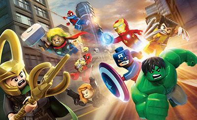 לגו - גיבורי על  lego לגו     lego    אנימציה   Marvel Super Heroes    children-1047