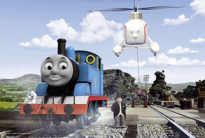 תומס הקטר  - Thomas-and-friendsתומס הקטר  - Thomas-and-friends   אנימציה children-1094