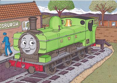 תומס הקטר  - Thomas-and-friendsתומס הקטר  - Thomas-and-friends   אנימציה children-1099