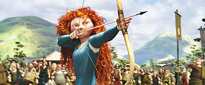 אמיצה -  פיקסאר  דיסני  Disney    אנימציה   _Disney-Pixar-Screencaps-Princess-Merida