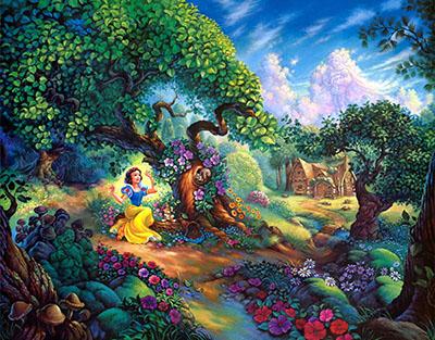 שלגיה  דיסני   Disney    אנימציה  snow white