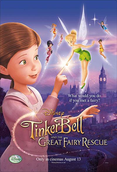 טינקרבל והסוד הקסום  דיסני   Disney    אנימציה  Tinker Bell  and the Great Fairy Rescue