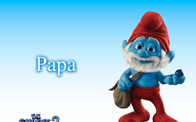 הדרדסים -  The Smurfs  הדרדסים -  The Smurfs        אנימציה      Papa smurf the most intelligent smurf