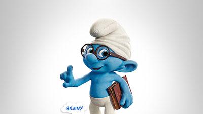 הדרדסים -  The Smurfsהדרדסים -  The Smurfs        אנימציה      the smurfs 2 brainy book glasses