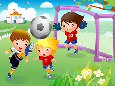כדורגלילדים  כדורגל