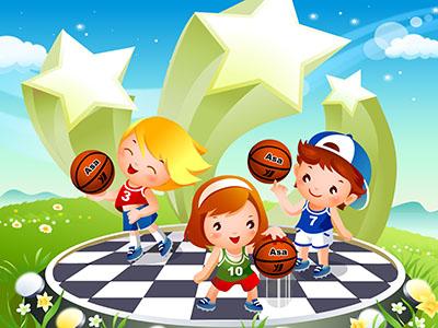 כדורסלילדים  כדורסל