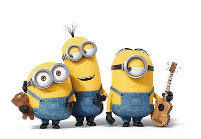 מיניון   שלישיה  - Minions אנימציה  מיניון   שלישיה  -    Minions Guitar  Three