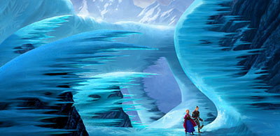 לשבור את הקרח  -   Frozen אנימציה  פרוזן לשבור את הקרח  -   Frozen